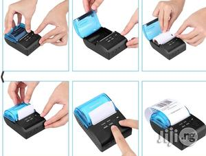 Mini Wireless 58mm Portable Bluetooth Thermal Printer   Printers & Scanners for sale in Lagos State, Ikeja