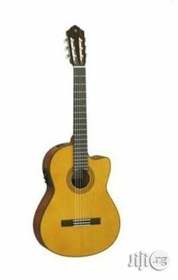 Yamaha Cgx122mcc Electric/Accoustic Guitar | Musical Instruments & Gear for sale in Lagos State, Ojo