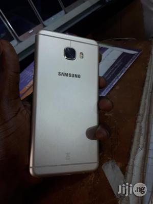 Samsung Galaxy C7 Gold 64GB For Sale | Mobile Phones for sale in Lagos State, Ikeja