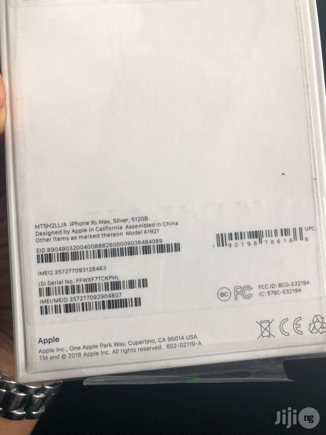 New Apple iPhone XS Max 512 GB | Mobile Phones for sale in Ikeja, Lagos State, Nigeria
