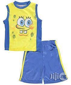 Spongebob Squarepants 2 Piece Set - 2Y | Children's Clothing for sale in Lagos State, Surulere