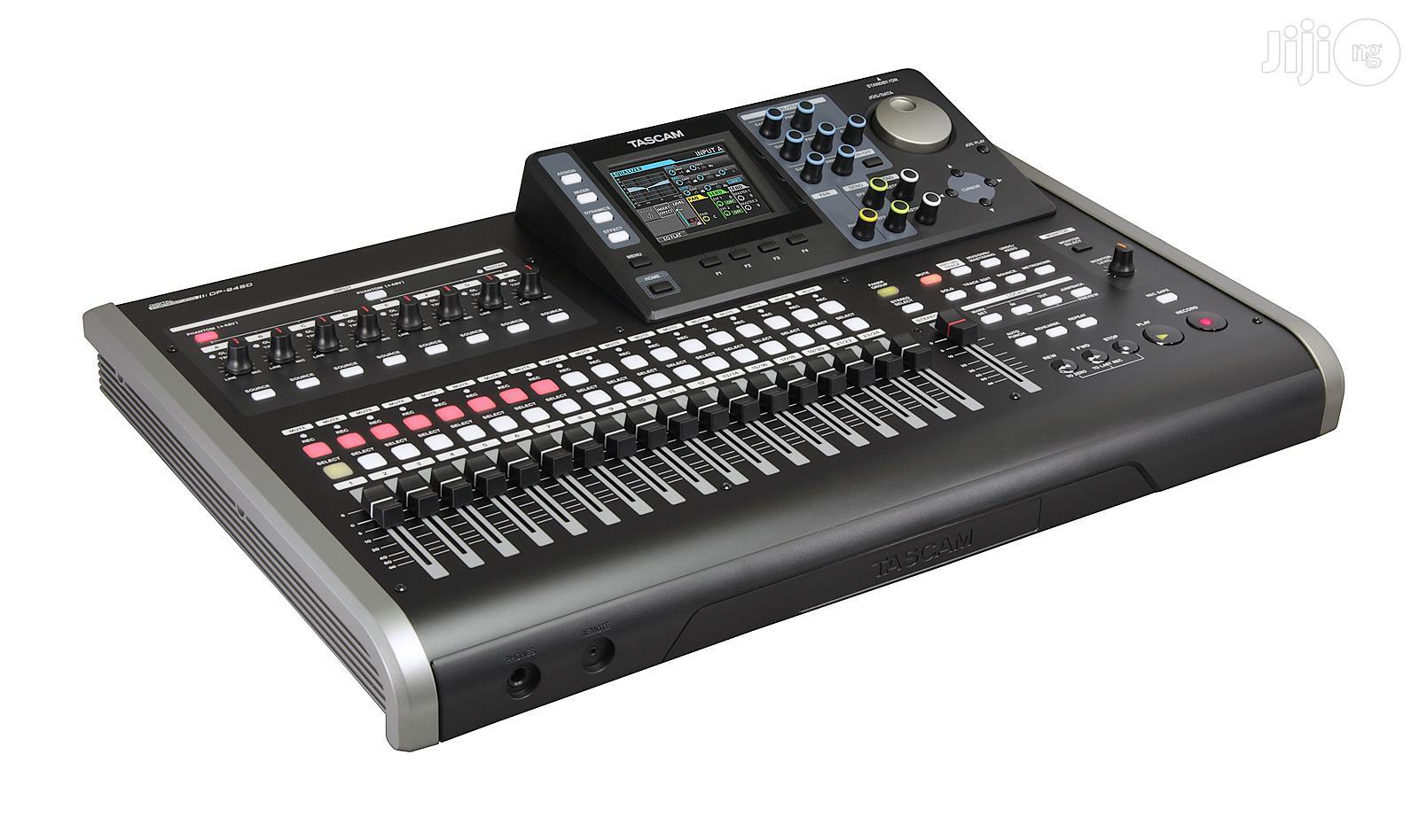 Tascam – DP-24 24 Track Digital Portastudio Recorder | Audio & Music Equipment for sale in Lagos State, Nigeria