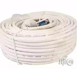 Cable & Guage VGA To VGA Cable - 40m   Accessories & Supplies for Electronics for sale in Lagos State, Ikeja