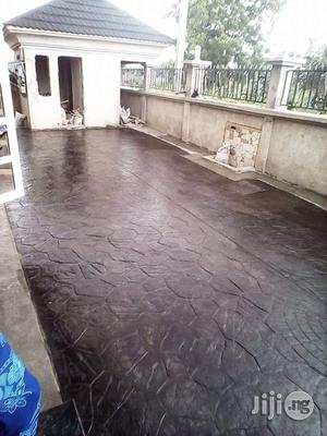 Concrete Stamping Flooring Designs And Polishing | Building & Trades Services for sale in Lagos State