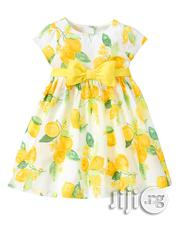 Gymboree White and Yellow Dress - 12/18mths | Clothing for sale in Lagos State, Surulere