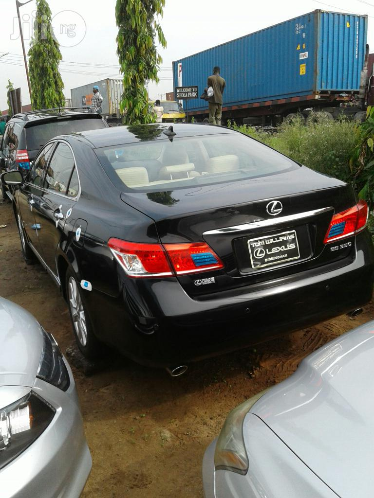 Lexus ES 2012 350 Black   Cars for sale in Apapa, Lagos State, Nigeria