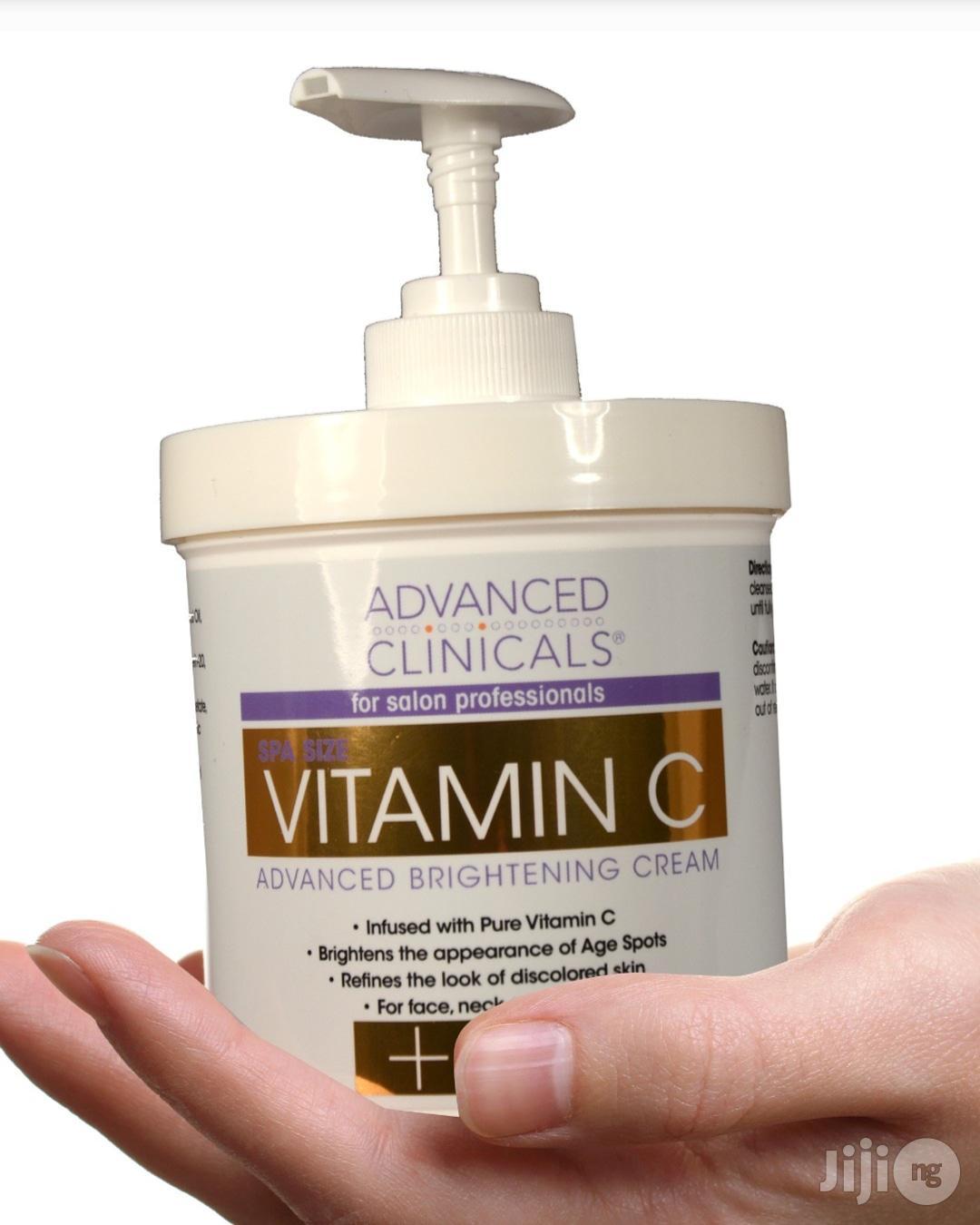 Advanced Clinicals Anti-Aging Vitamin C Brightening Cream