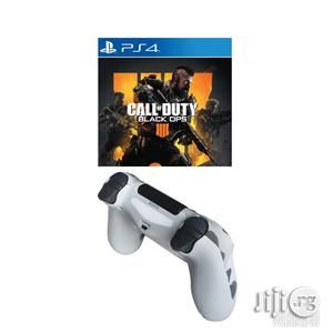 Ps4 Controller Pad + Call Of Duty Black Opps 4 Game | Accessories & Supplies for Electronics for sale in Lagos State, Ikeja