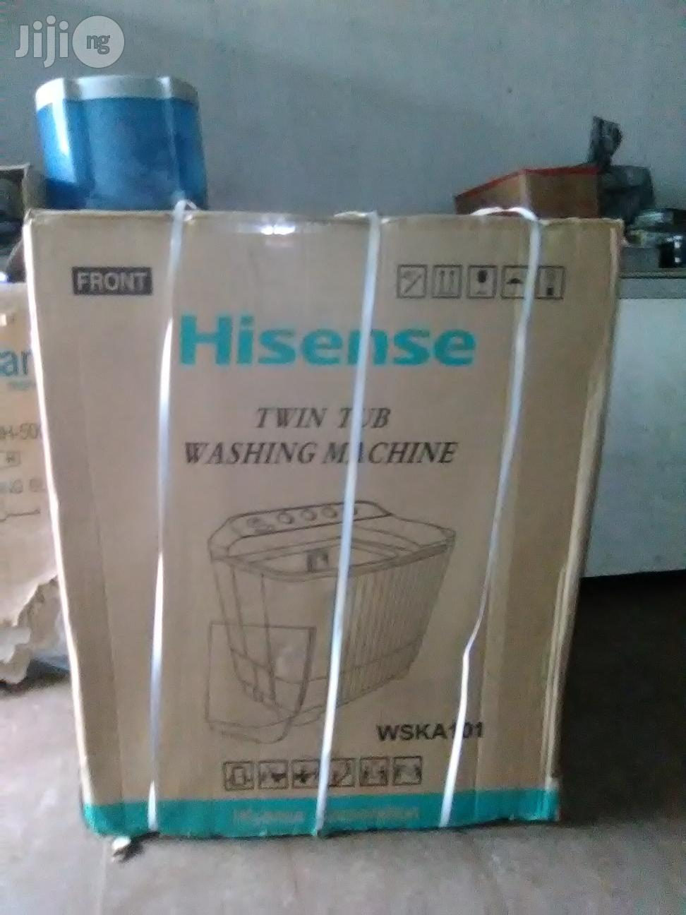 Hisense 10kg Washing and Spinning Machine | Home Appliances for sale in Ajah, Lagos State, Nigeria