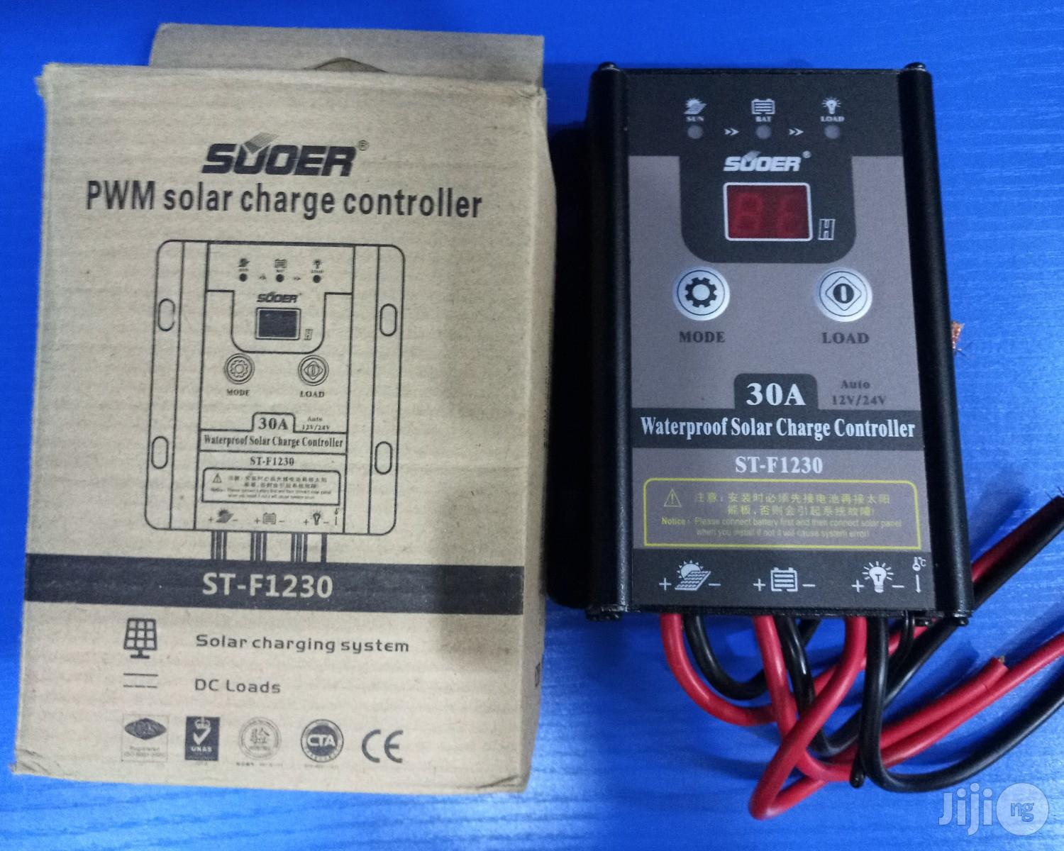 30A Suoer Charge Controller 12&24v
