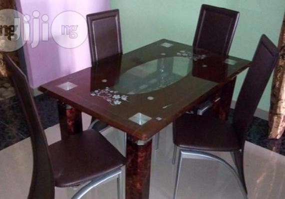 Imported New 4-Seater Dining Table