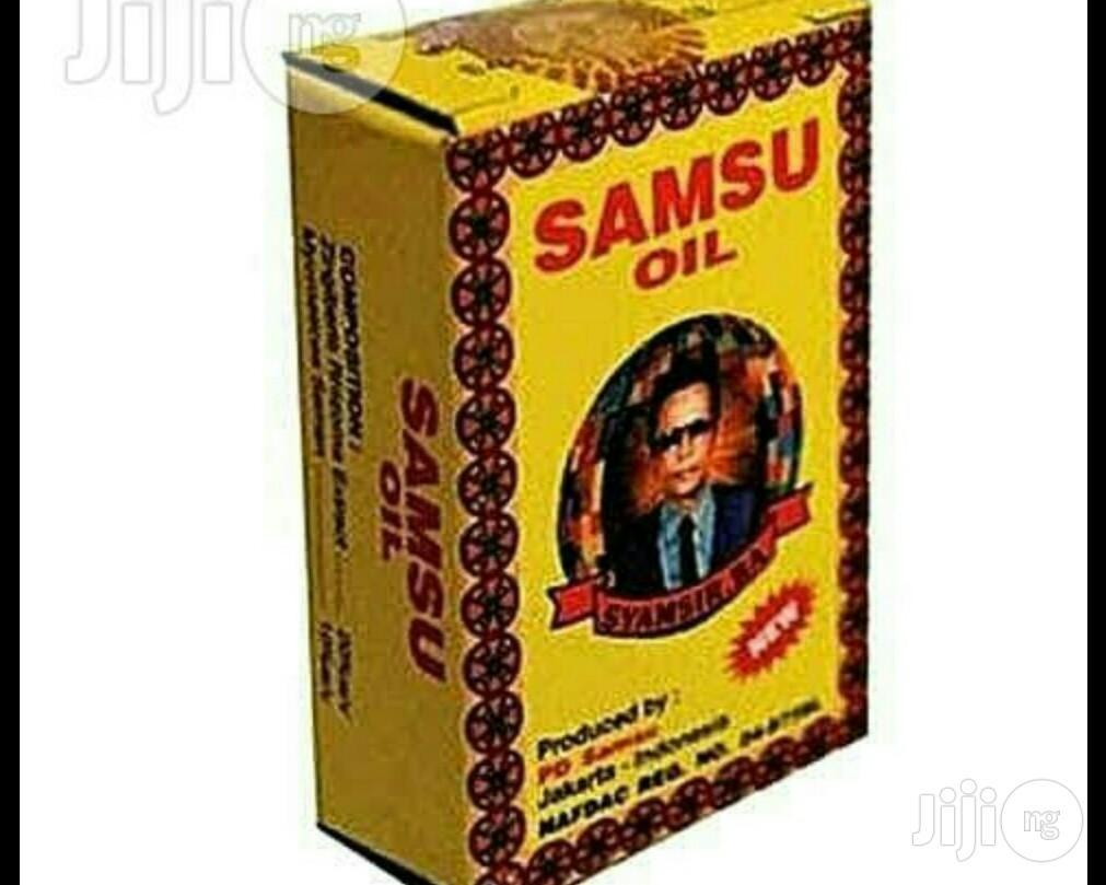 Samsu Oil For Long Lasting Ejaculation