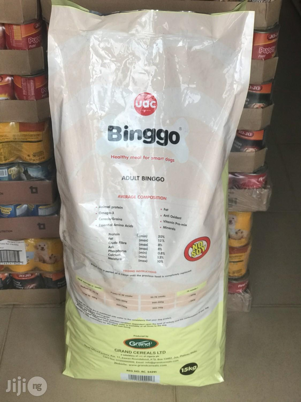 Binggo 15kg Adult Dog Food   Pet's Accessories for sale in Agege, Lagos State, Nigeria