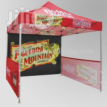 Gazebo/Tent/Canopy/Umbrella Branding.