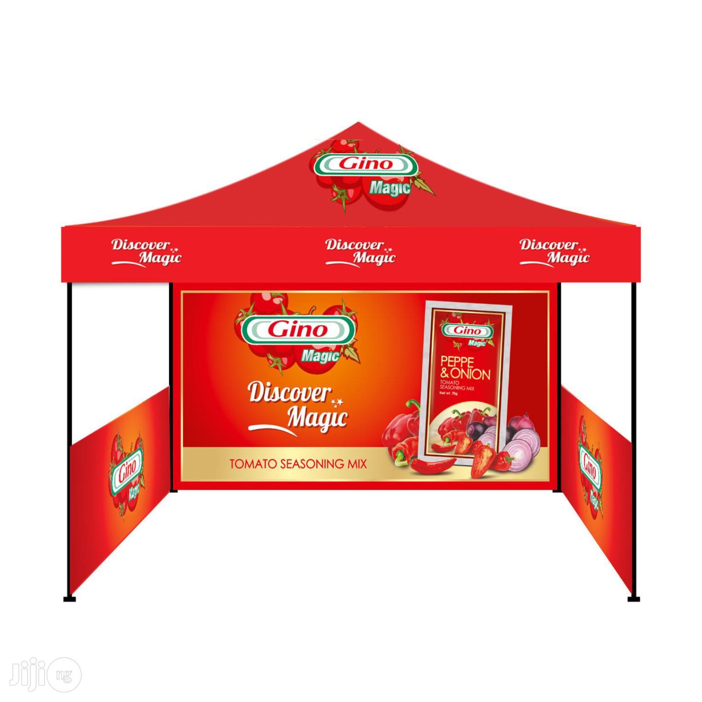 Gazebo Branding Tent Canopy