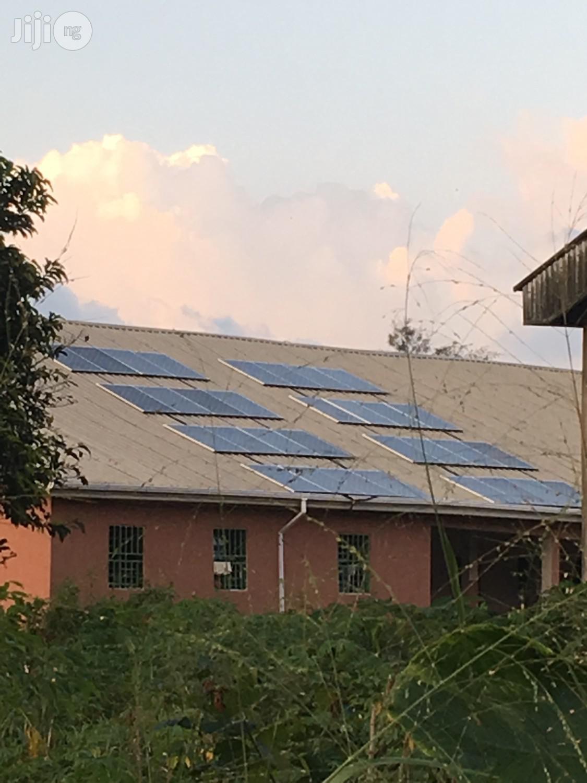 Archive: Solar Hybrid Installation