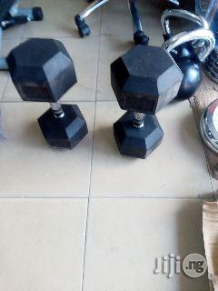 40kg Iron Dumbbell 1500 Per Kg | Sports Equipment for sale in Port-Harcourt, Rivers State, Nigeria