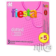 Fiesta Dotted Condoms | Sexual Wellness for sale in Lagos State, Alimosho