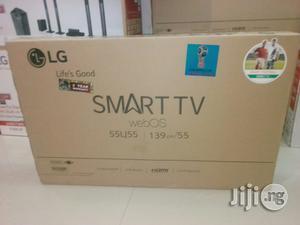 Lg 55inch Led Smart Tv | TV & DVD Equipment for sale in Lagos State, Ojo