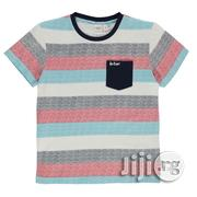 Lee Cooper Boys Textured T-Shirt - Multi | Children's Clothing for sale in Lagos State, Shomolu