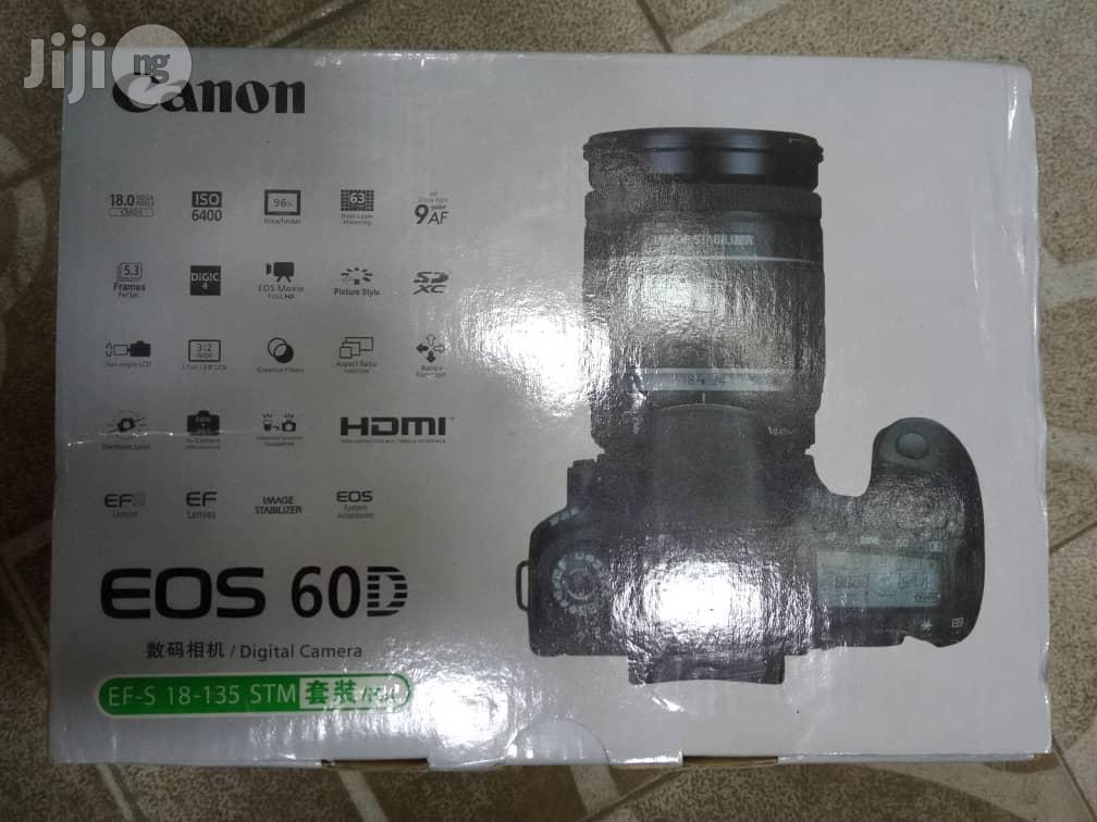 Canon 60D Camera | Photo & Video Cameras for sale in Lagos Island (Eko), Lagos State, Nigeria