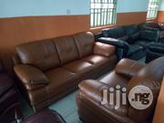 Imported Sofa Chair Guarantee Leather | Furniture for sale in Lagos State, Ajah
