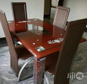 Classic Dining Table by Four Seater | Furniture for sale in Lagos State, Agboyi/Ketu