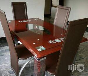 Quality Dining Table by Four Seater | Furniture for sale in Lagos State, Gbagada