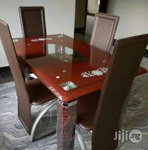 Durable Dining Table by Four Seater | Furniture for sale in Lagos State, Ikeja