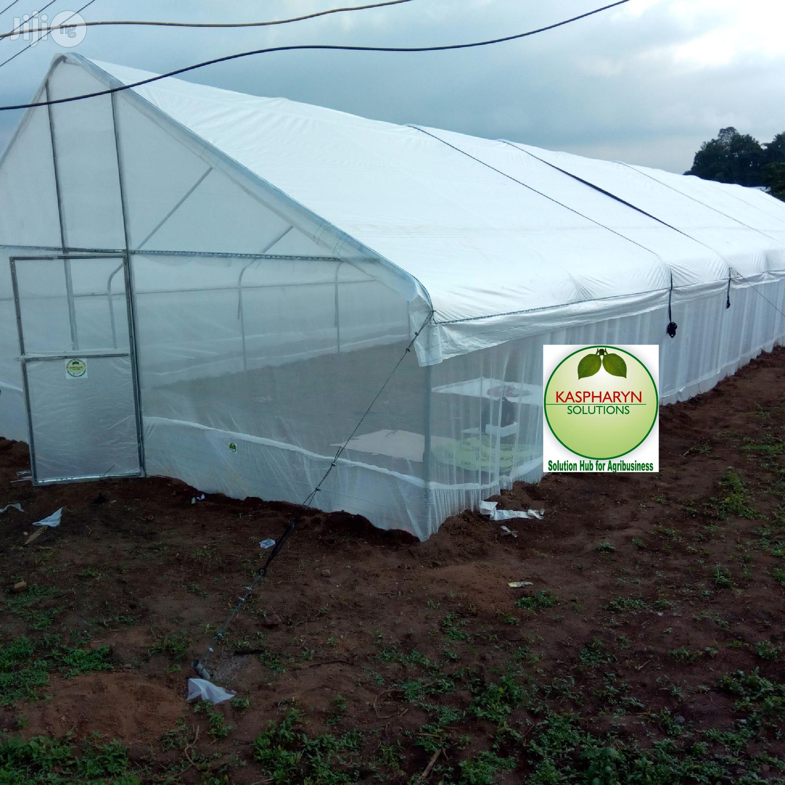 Greenhouse, Nethouse And Solar Dryer Construction   Garden for sale in Odeda, Ogun State, Nigeria