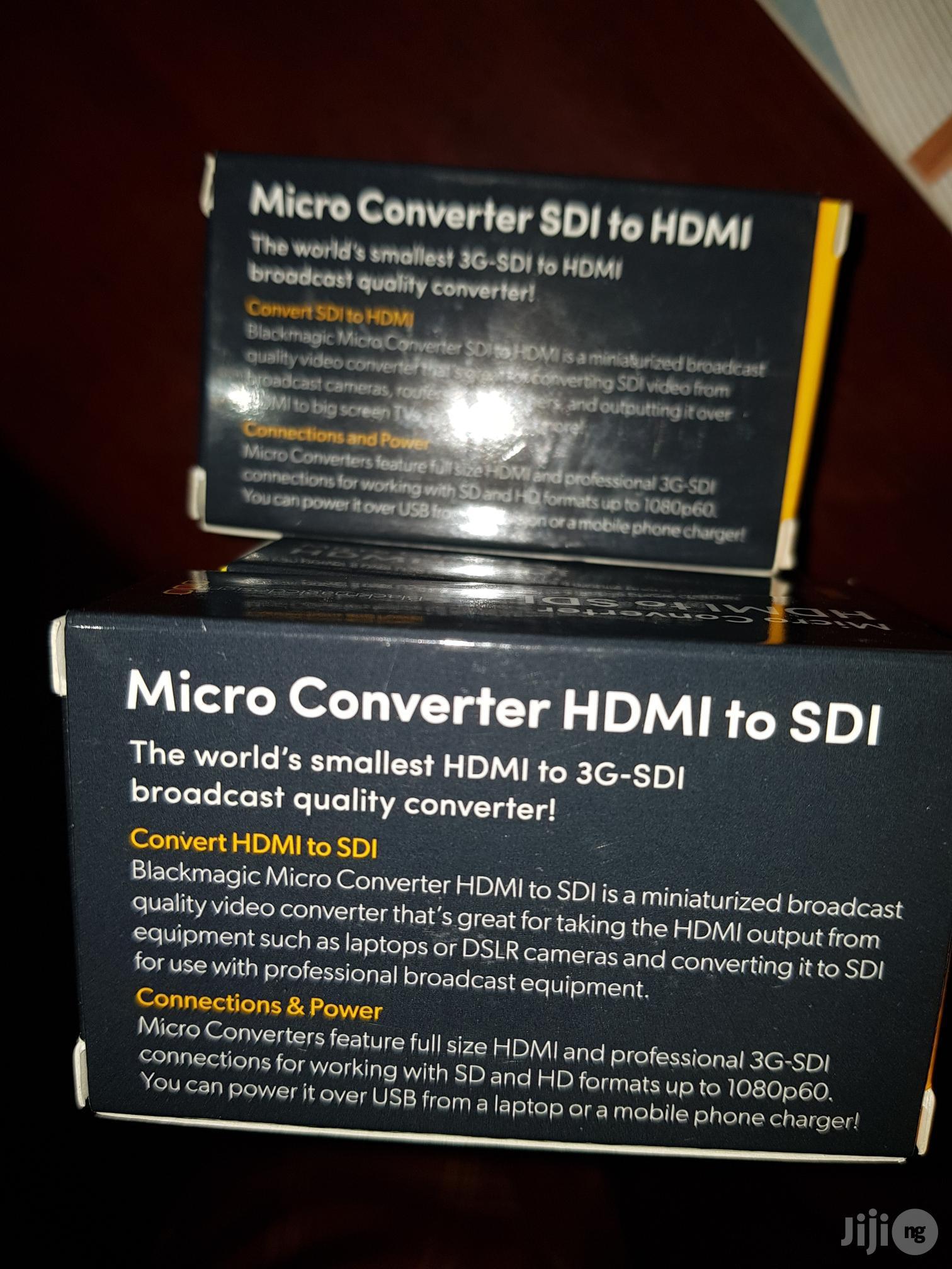 Blackmagic Converter HDMI To SDI Or SDI To HDMI