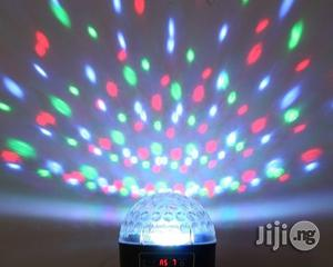 Mini LED Crystal Magic Ball Light Effect Light Disco DJ Stage Lighting | Stage Lighting & Effects for sale in Lagos State
