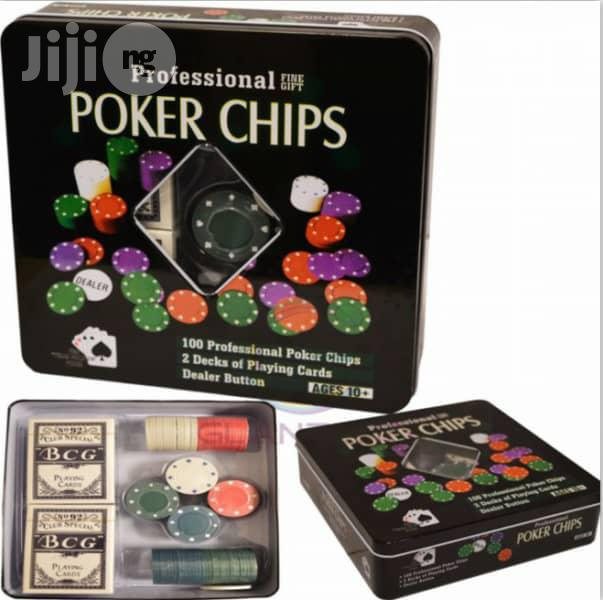Professional Poker Chips | Books & Games for sale in Lekki, Lagos State, Nigeria