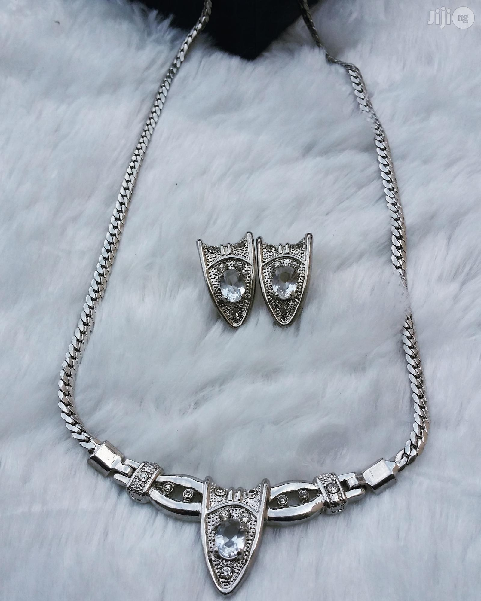 Silver Necklace | Jewelry for sale in Ajah, Lagos State, Nigeria