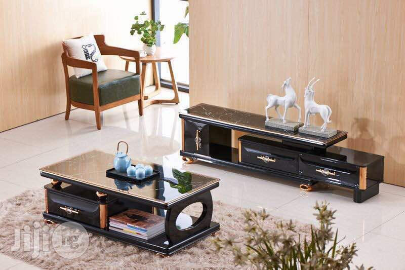 Archive: New Arrival Set of Tv Console and Centre Table