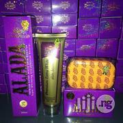 Alada Premium Extra White Skin Booster SPF70 -200ml And Alada Soap | Bath & Body for sale in Lagos State