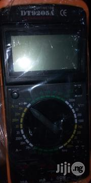DT9205A Digital Multimeter | Measuring & Layout Tools for sale in Plateau State, Barkin Ladi