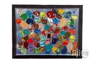 Ankara Portrait Wall Frame SIL01- Handmade | Arts & Crafts for sale in Lagos State, Ojodu