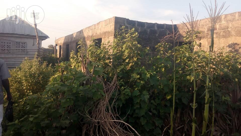 Uncompleted Building Behind President Housing Estate Badagry For Sale. | Houses & Apartments For Sale for sale in Badagry, Lagos State, Nigeria