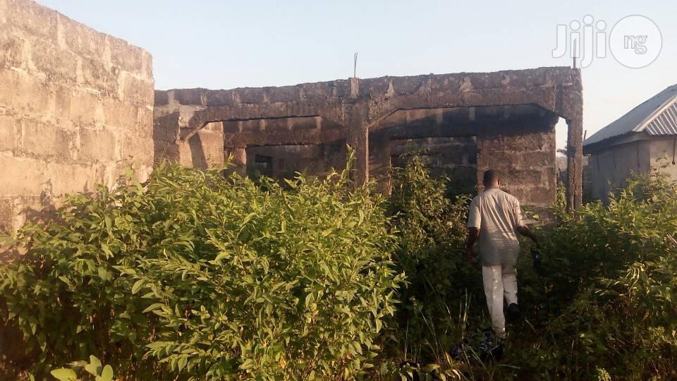 Uncompleted Building Behind President Housing Estate Badagry For Sale.