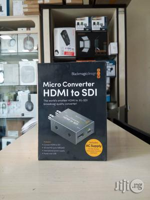 Blackmagic Micro Converter HDMI to SDI With PSU | Accessories & Supplies for Electronics for sale in Rivers State, Port-Harcourt