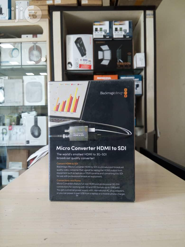 Blackmagic Micro Converter HDMI to SDI With PSU   Accessories & Supplies for Electronics for sale in Port-Harcourt, Rivers State, Nigeria