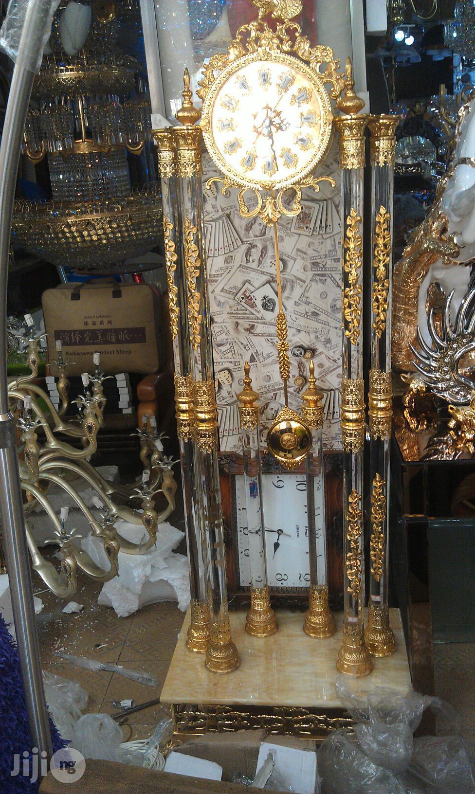 Archive: Gold Clock