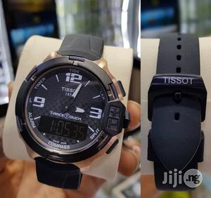 Tissot Digital Analog Rubber Strap Watch | Watches for sale in Lagos State, Surulere