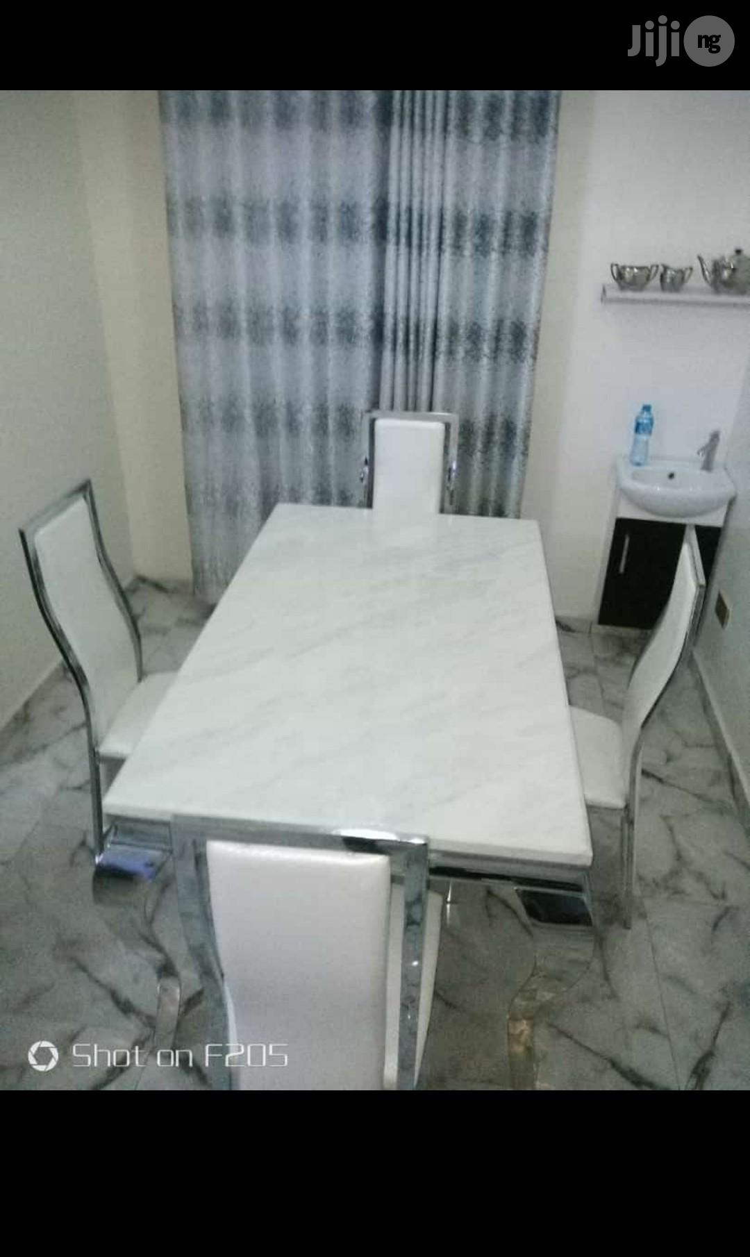 Quality And Affordable Marble Dining Table