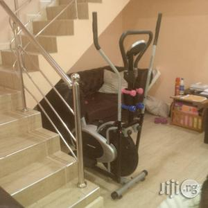 Two Handle Orbitrac With Dumbbell and Display   Sports Equipment for sale in Lagos State, Surulere