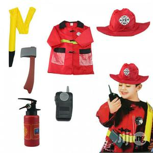 Fire Fighter Kids Costume | Children's Clothing for sale in Lagos State, Amuwo-Odofin
