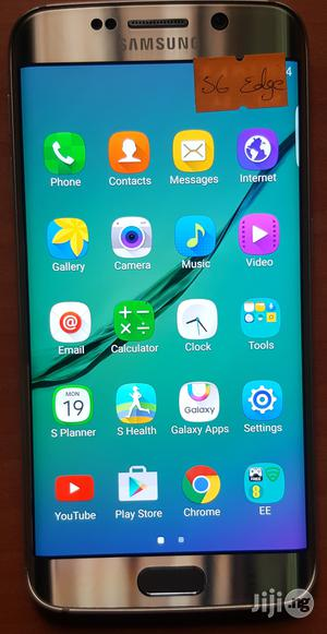Samsung Galaxy S6 edge 32 GB Gold | Mobile Phones for sale in Lagos State, Ilashe