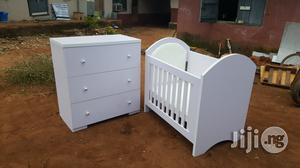 Baby Cot and Chest Drawers | Children's Furniture for sale in Edo State, Benin City