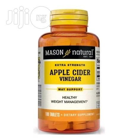 Mason Natural Apple Cider Extra Strength Vinegar 100 Tablets